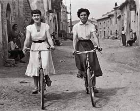 Lalueza, provincia de Huesca, década de 1950.