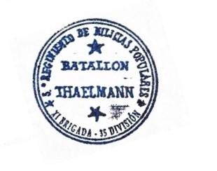 Batallón Thaelmann