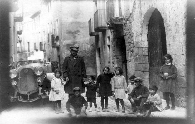 Albert Einstein a l'Espluga de Francolí (1923 Cataluña)