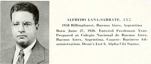 Alfredo yearbook